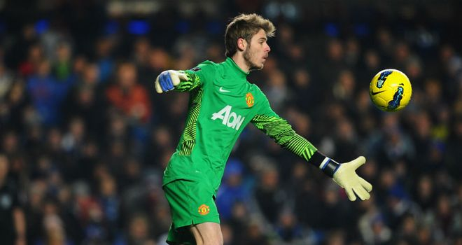 David De Gea: The United goalkeeper was in fantastic form as the Reds beat Norwich 2-1 last week