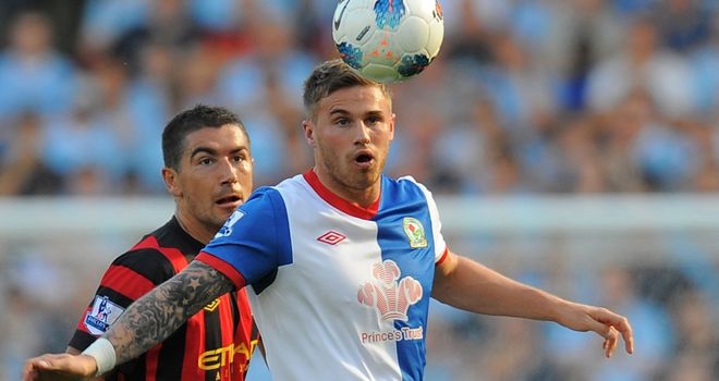 David Goodwillie: Being linked with a move to Bristol City as he looks set to leave Blackburn