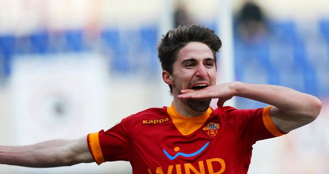 Fabio Borini: Bagged a brace as Roma crushed Inter Milan at Stadio Olimpico
