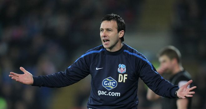 Dougie Freedman: Has impressed during his time in charge at Palace