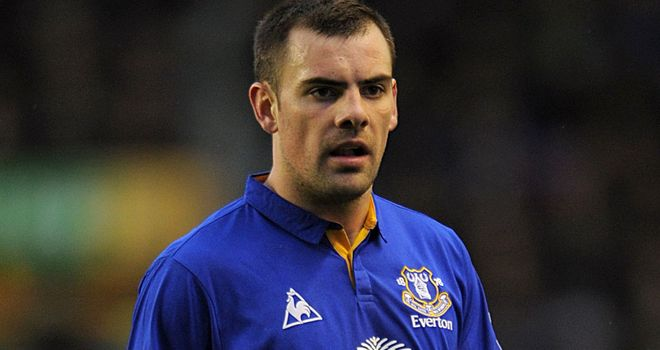 Darron Gibson: Has impressed since joining Everton and will be a big miss for David Moyes