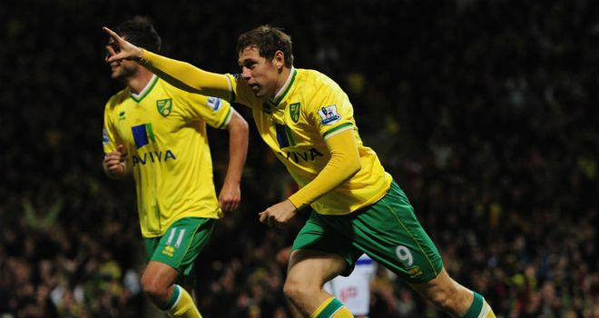 Grant Holt: Norwich striker has been backed to play for England by team-mate Steve Morison