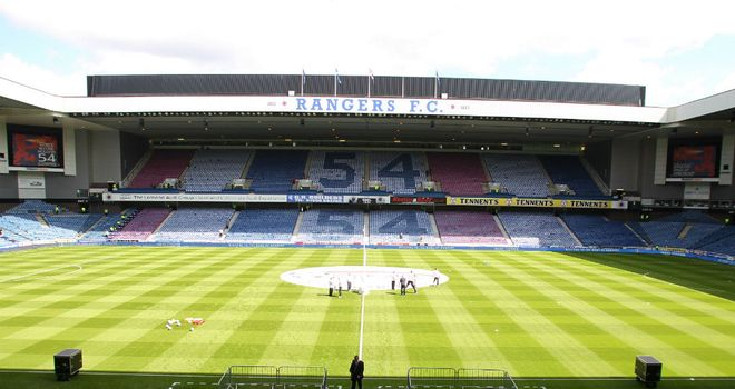 Strathclyde Police are seeking a meeting with Rangers&#39; administrators