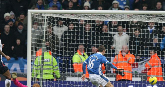 James McArthur is on hand to slot the ball into the empty net for Wigan's winner