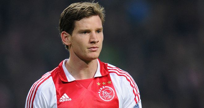 Jan Vertonghen: Defender is still to reach an agreement with Ajax which will allow him to join Tottenham