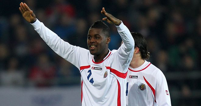 Joel Campbell: The Arsenal young gun is expected to join Real Betis on loan