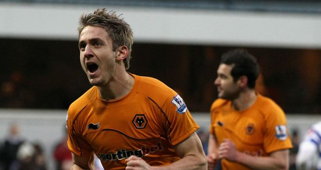 Kevin Doyle: The Wolves striker was back in the goals at QPR