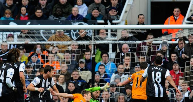 Kevin Doyle: Scored in Wolves' fightback from two goals down to draw at Newcastle inspired by new boss Terry Connor