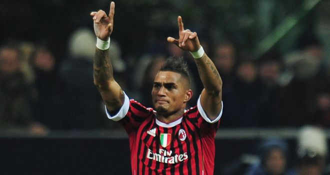 Kevin-Prince Boateng: AC Milan have received no approach from Galatasaray for the midfielder