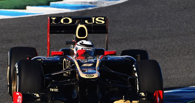 Significant changes: The Lotus E20 made its debut at Jerez last week