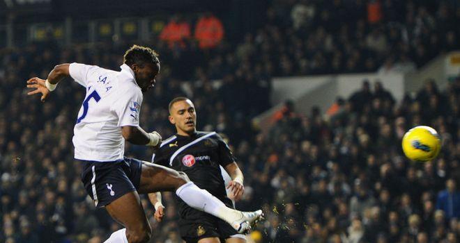 Louis Saha: Had praise for Harry Redknapp and Emmanuel Adebayor after impressive full debut
