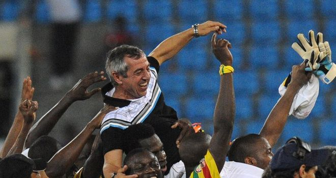 Alain Giresse: Appointed Senegal coach