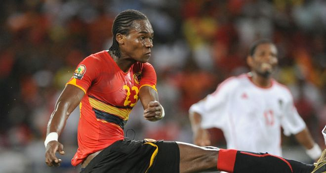 Manucho: Angola striker had best chance of the game