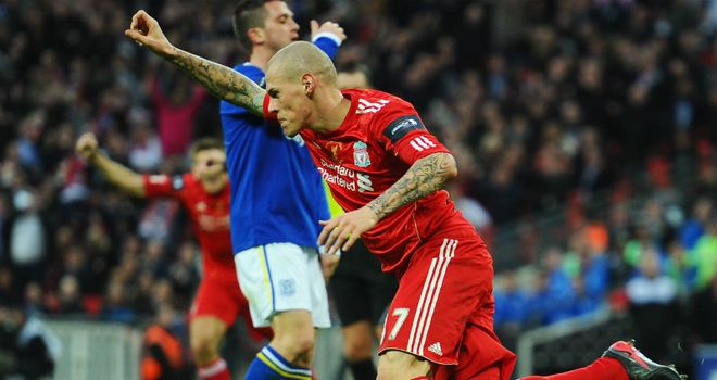 Martin Skrtel: Scored Liverpool's equaliser at 1-1 against Cardiff at Wembley