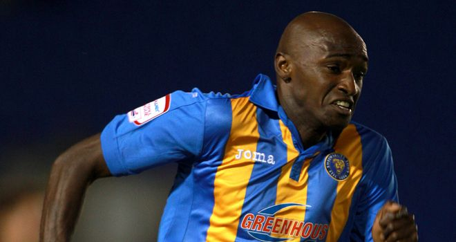 Marvin Morgan: Shrewsbury striker has called on his team-mates to build on the win over Crawley