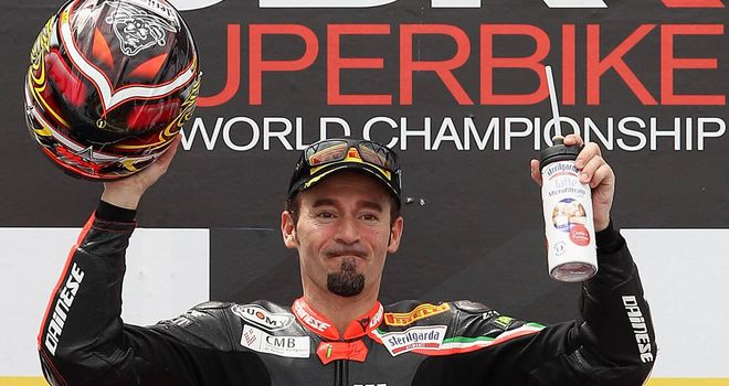 Max Biaggi: Has a 48-point lead