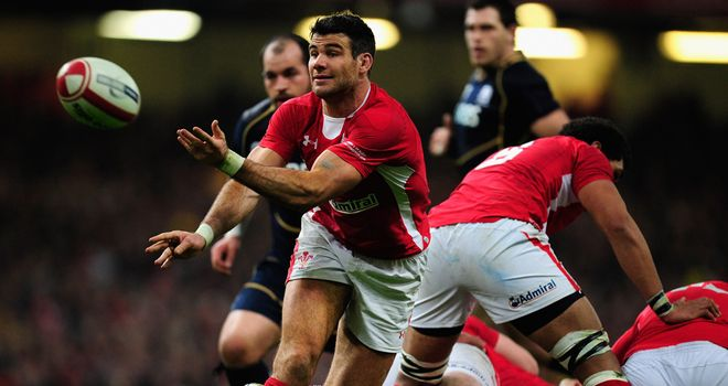 Wales scrum-half Mike Phillips is wary of England