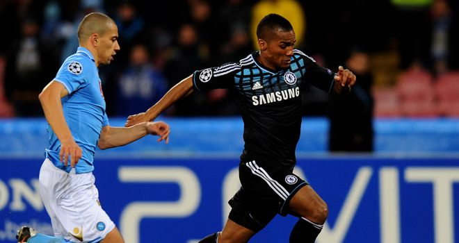 Florent Malouda: Hoping to play a part in the Champions League final