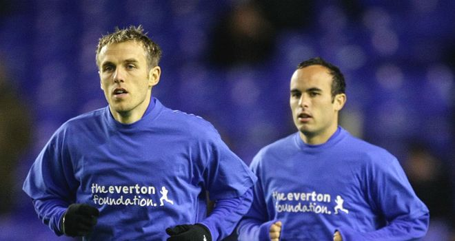 Landon Donovan: Phil Neville insists USA international will be missed at Goodison Park