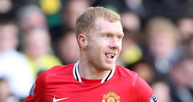 Paul Scholes: Veteran midfielder has slipped seamlessly back into the fold at Old Trafford