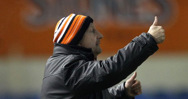 Ian Holloway: Blackpool manager has played down any row with Doncaster striker El Hadji Diouf