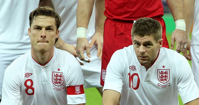 Scott Parker: Says Gerrard congratulated him after he was handed armband