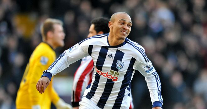 Peter Odemwingie: Baggies striker is aiming to get back to his best form