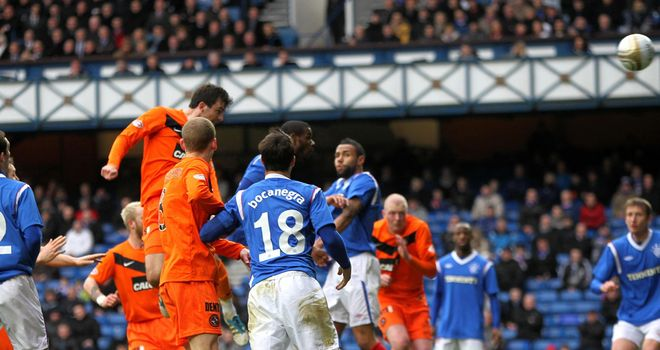 Dundee United and Rangers went head-to-head in the Scottish Cup back in February