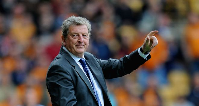 Roy Hodgson: Focused on his work with West Brom