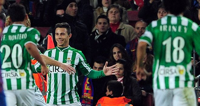 Ruben Castro: Among the Real Betis scorers