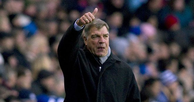 Sam Allardyce: Insists Harry Redknapp is the