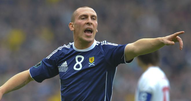 Scott Brown: Midfielder was one of four players to miss Scotland's training session on Thursday