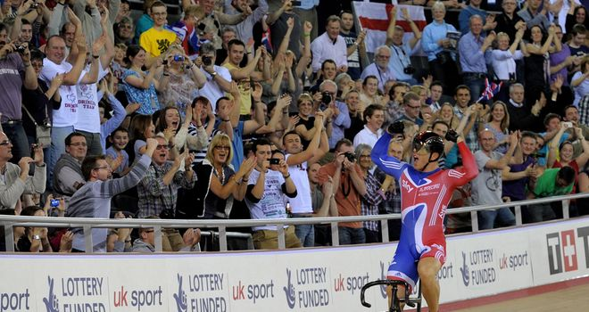 Sir Chris Hoy: Brilliant performance to take the gold in the Keirin