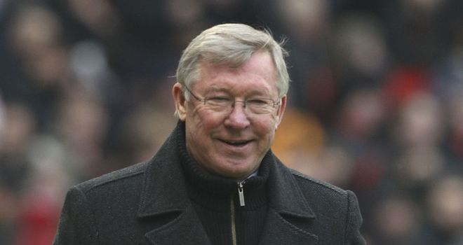 Sir Alex Ferguson: Pleased with fitness of his Manchester United squad