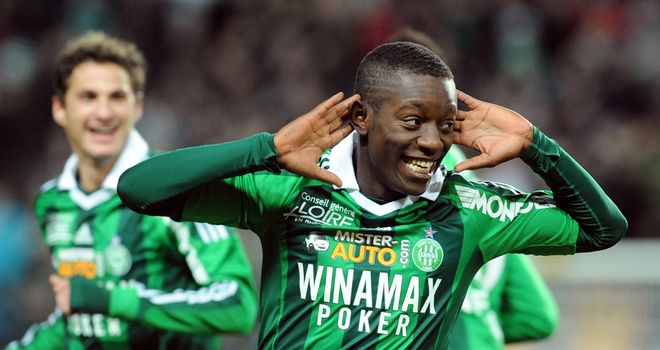 Max Gradel: St Etienne are mulling over an offer from a Russian club