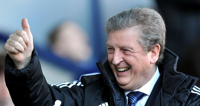 Roy Hodgson: Believes the club will struggle to continue winning run in their next three fixtures