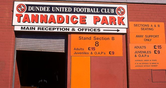Rangers will not accept ticket allocation for Tannadice in February