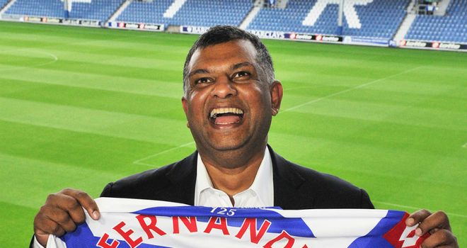 Tony Fernandes: Insists nothing is going to end his QPR love affair