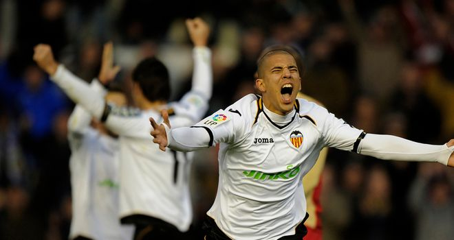 Sofiane Feghouli: Valencia midfielder scored the second goal in a 2-0 win over Tottenham