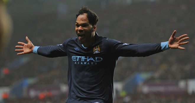 Joleon Lescott: Determined not to let United clinch the title at the Ethiad