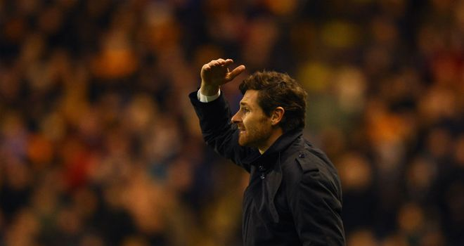 Andre Villas-Boas: Appreciates that Chelsea will need to raise their game against Napoli