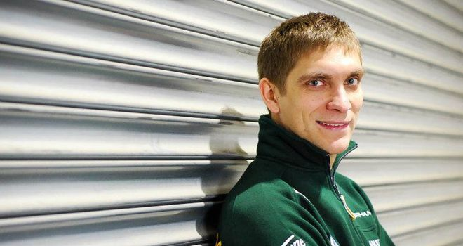 Vitaly Petrov: finished third in Australia last year - his best result in F1