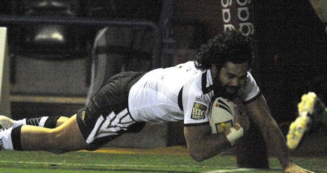 Patrick Ah Van: A try and four conversions for Widnes