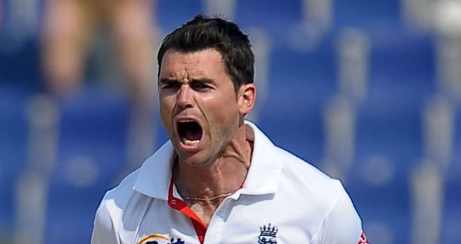 James Anderson: Insists spirits are still high heading into third and final Test against Pakistan