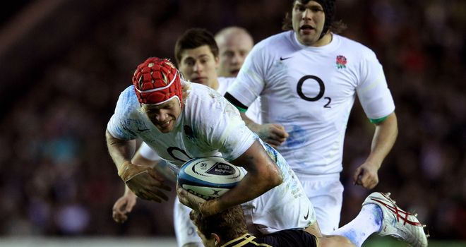 Botha: solid in defence for England