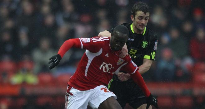 Adomah: Available for clash with Blackburn