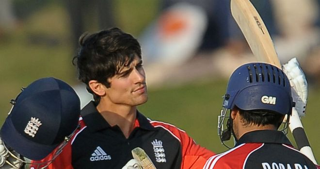 Cook: turned himself into a fine one-day player