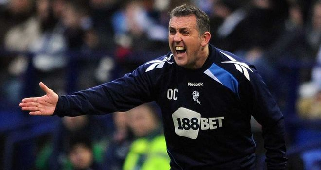 Owen Coyle: Insists he does not fear the drop with Bolton this season
