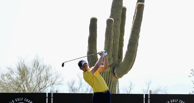 Luke Donald: Was beaten 5&4 by Ernie Els and becomes only the third top seed to lose in the first round