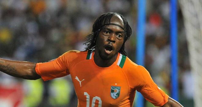 Gervinho: Scored Ivory Coast's winner to book spot in final